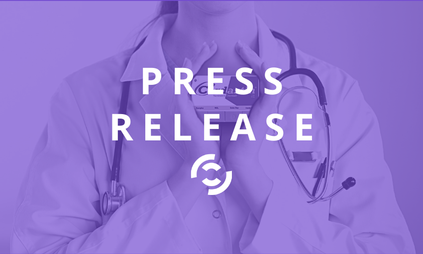 Doctor holding Swittons device Swittons press release